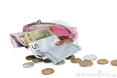 Money with purse