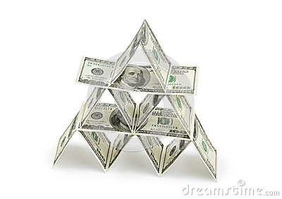 Money pyramid