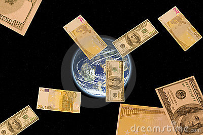 Money is always satellites of people