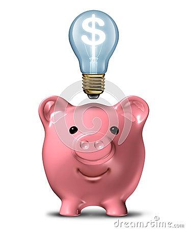 Free Money-Saving-Ideas Stock Image - 23635271