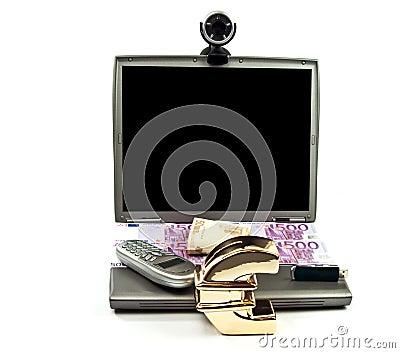 Money saving using generic laptop and webcam