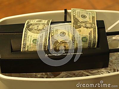 Money shred 14