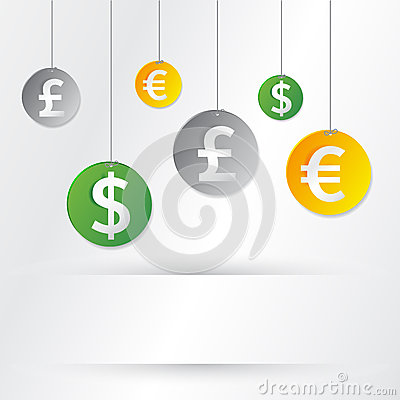 Free Money Signs Stock Photography - 29503002