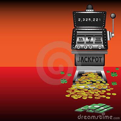 Money and slot machine