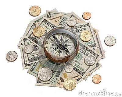 Money Strategy Management Compass