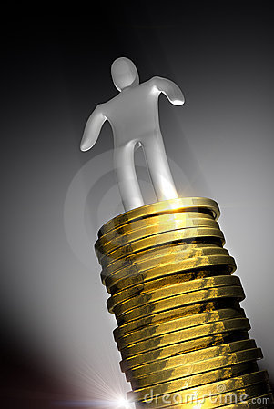Money success concept
