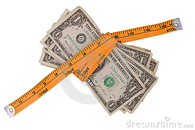 Money tape measure