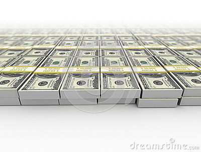 Money us dollars background