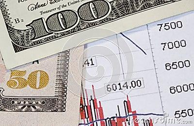 Money versus stocks