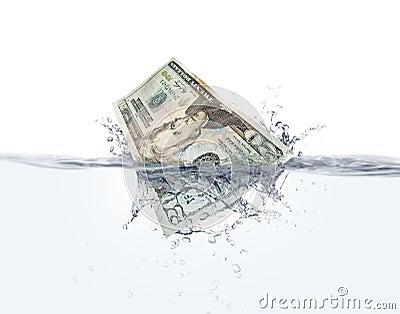 Money on water