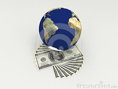 Money in the world.