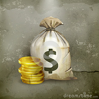 Moneybag w starym stylu,