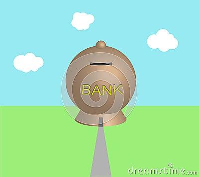 Moneybox-batería