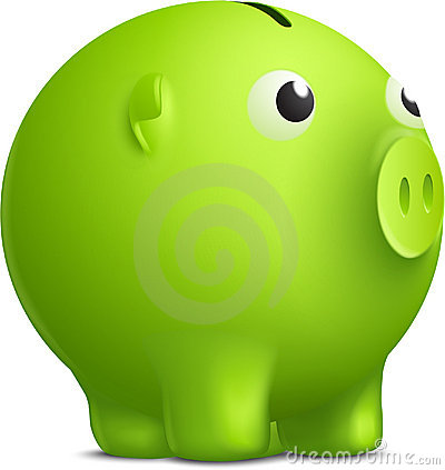 Moneybox del vector