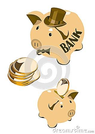 Moneybox pig