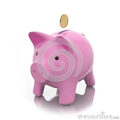 Moneybox prosiątko