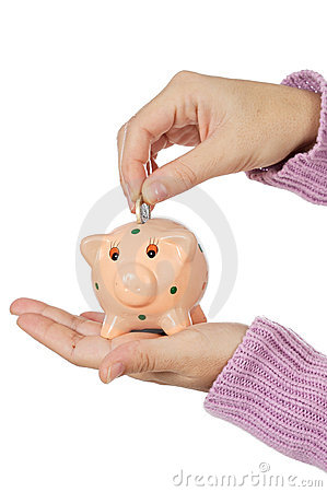 Moneybox und Bargeld
