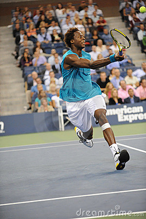 Monfils Gael at US Open 2009 (43) Editorial Stock Image