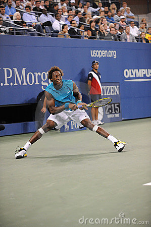 Monfils Gael at US Open 2009 (49) Editorial Photography