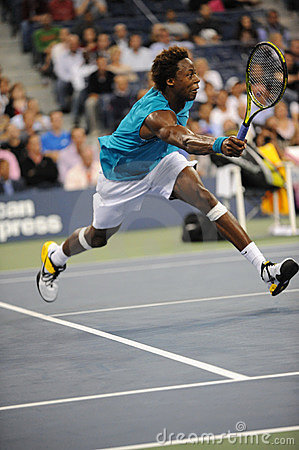 Monfils Gael at US Open 2009 (78) Editorial Image