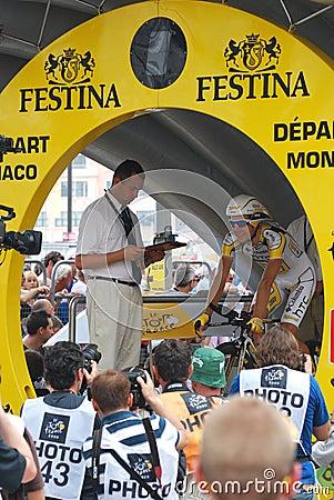 Monfort Maxime - Tour de France 2009 Editorial Photo