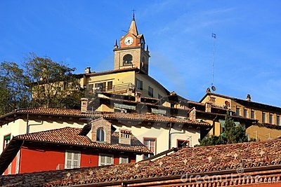 Monforte d Alba, Langhe shire, Italy