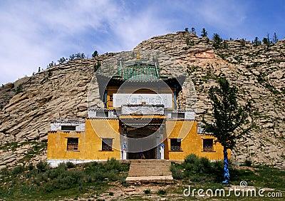 Mongolia buddhist temple