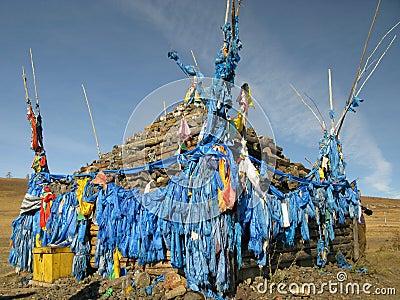 Mongolia - religion symbol of Mongolia (ovo)