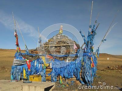 Mongolia - símbolo de la religión de Mongolia