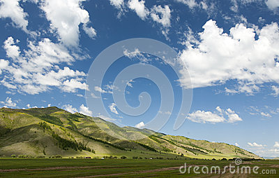 Mongolian Mountainscape