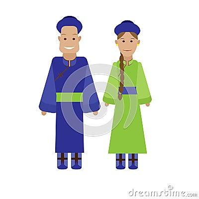 Mongolian national dress