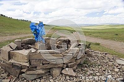 Mongolian Sacred Ovoo