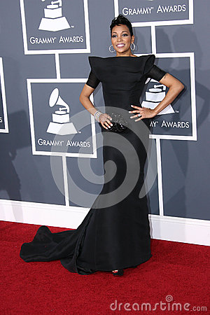 Monica at the 53rd Annual Grammy Awards, Staples Center, Los Angeles, CA. 02-13-11 Editorial Image
