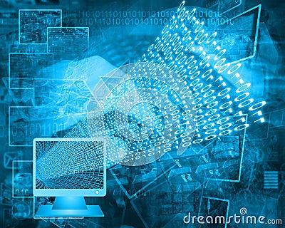 Monitor and binary code