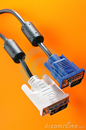 Monitor connectors
