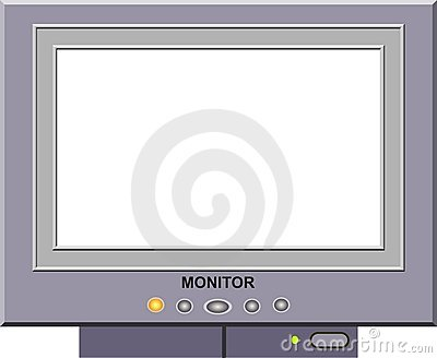 Monitor Picture Frame