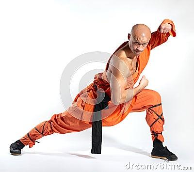 Monje del guerrero de Shaolin