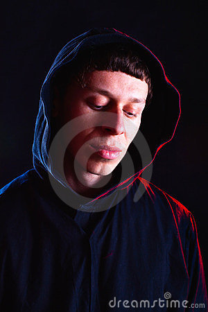 Free Monk Lost In Thought Royalty Free Stock Photography - 23599857