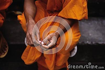 Monk- Phnom Penh, Cambodia