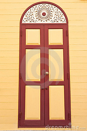 Free Monk S House Door Stock Photo - 9317480