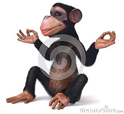 Free Monkey Royalty Free Stock Image - 10928286