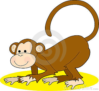 Monkey Crawling
