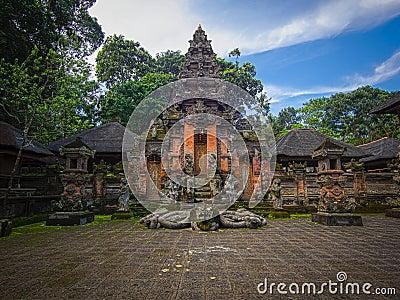 Monkey Forest Temple in Ubud, Bali