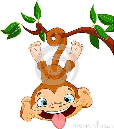 Free Monkey Hamming Royalty Free Stock Photo - 29620925