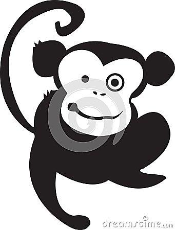 Monkey Madness Black