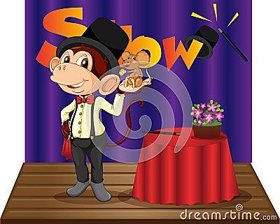 Monkey magician