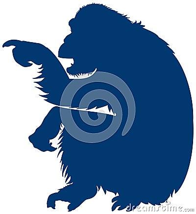 Monkey Pointer, informative sign