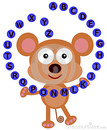Monkey s alphabet