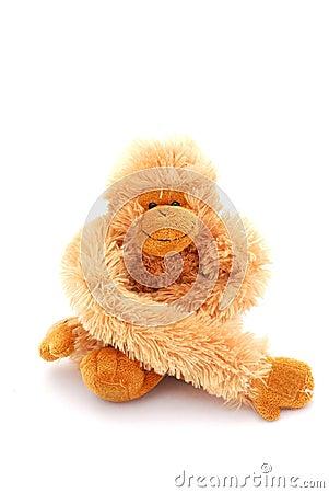 Free Monkey Teddy Toy Royalty Free Stock Photos - 7765358