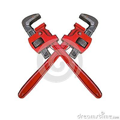 Free Monkey Wrench Cross Royalty Free Stock Photo - 91925915